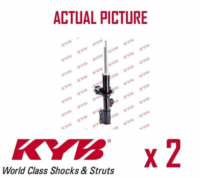 2 x FRONT AXLE SHOCK ABSORBERS PAIR STRUTS SHOCKERS KYB OE QUALITY 332500