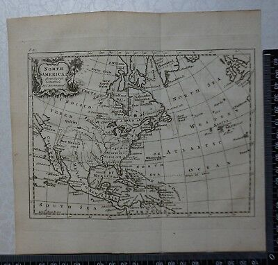 1758 - Thomas Kitchen Map of North America