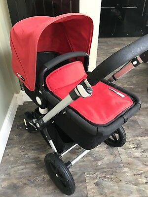 bugaboo cameleon 3 red with extras