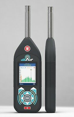 dBAir Environmental Class 1 Sound Meter