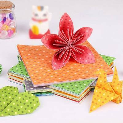 30 Sheets Children Colorful Square Origami Paper Double Sided Hand Crafts DIY