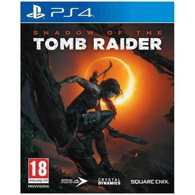 Videogames Ps4 Shadow Of The Tomb Raider Dvd Italiano Playstation 4 Koch Media