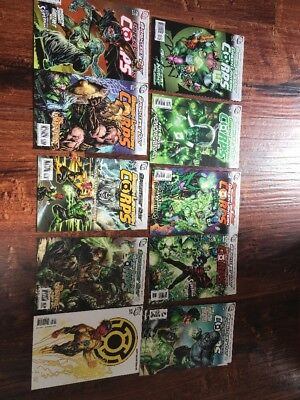 Green Lantern Corps Issues 47-63 Set Run Brightest Day Dc Plus Issue 160 1983