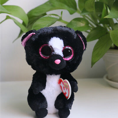"Xmas Plush Toy 6"" TY Beanie Boos Big Eyes With Tag Soft Stuffed Toy Animal Kids!"