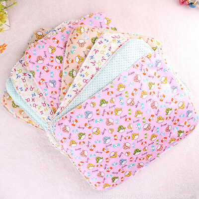 Baby Infant Diaper Nappy Urine Mat Kid Waterproof Bedding Changing Cover Pad od