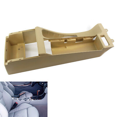 For BMW E46 Beige Center Console Trim Base w/ Arm Rest Opening 325i 328i M3 305
