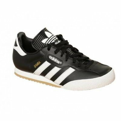 Adidas Samba Super Leather Black / White (Z30) 019099 Mens Trainers All Sizes