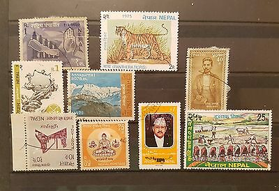 Nepal Mixed Selected Stamps (No 017)