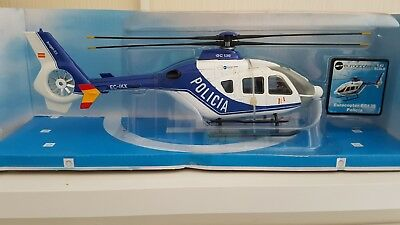 Sky Pilot Eurocopter 1:43 Scale Spanish Policia Version Die Cast with stand