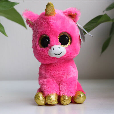 "6""Beanie Boos Glitter Eyes Plush Stuffed Animals Toys Kids Xmas Gift (With tag)"