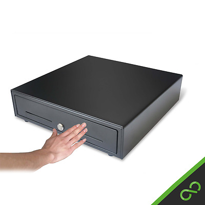 MK-410 High quality PUSH TO OPEN/CLOSE manual till cash drawer (4 note / 8 coin)