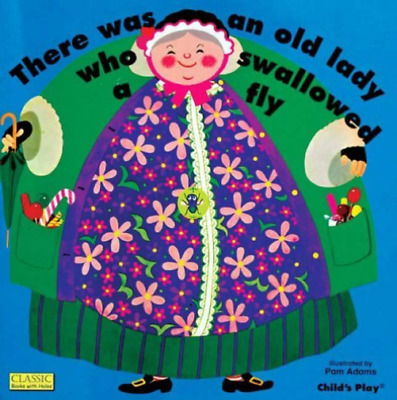 Adams, Pam (Ilt)-There Was An Old Lady Who Swallowed A Fly (US IMPORT) BOOK NEW