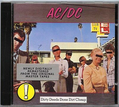 Ac/dc. Dirty Deeds Done Dirt Cheap  Cd