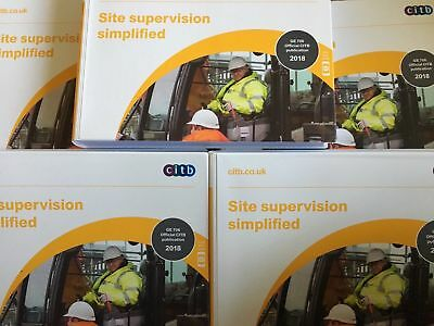 Site Supervision Simplified GE706 2018 Latest Edition CITB