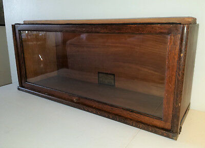 ANTIQUE GLOBE WERNEKE BARRISTER BOOKCASE SECTION D12-1/4 (#1 0f 3 SECTIONS)