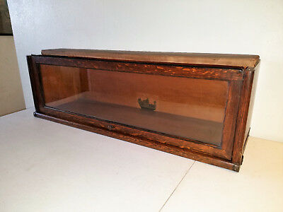 ANTIQUE GLOBE WERNEKE BARRISTER BOOKCASE SECTION D8-1/2 (#3 0f 3 SECTIONS)