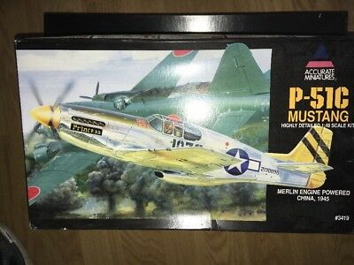 Accurate Minstures 3419 1:48 P-51C Mustang
