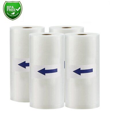 "8""x50' Vacuum Sealer Bags on Roll 4Mil Embossed Food Saver Vacuum Storage Bags"
