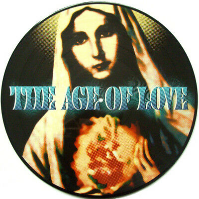"""12"""" Picture Disc Age Of Love - The Age Of Love Techno Classic Jam & Spoon *Neu*"""