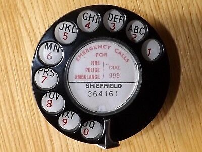 Vintage/Retro Rotary Telephone Dial