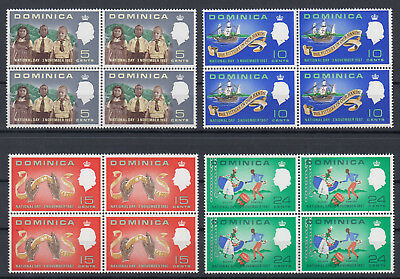 DOMINICA 1967 QEII ☀ National day 3.november ☀ MNH 4x4