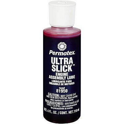 Permatex 81950 Ultra Slick Engine Assembly Lube Camshaft Bearings oil 118ml