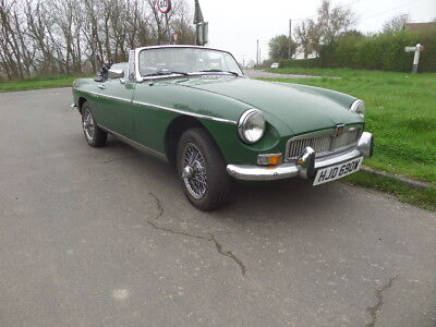 Oct 1980 Classic MGB ROADSTER Very Low Mileage, Only 19,174 miles in Essex