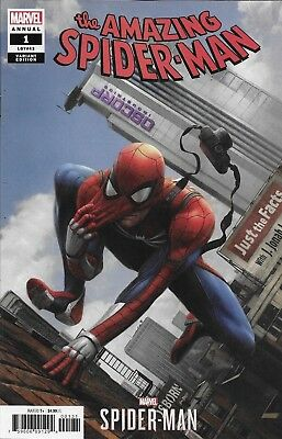 The Amazing Spider-Man Comic Issue 1 Annual Limited Chan Video Game Variant 2018