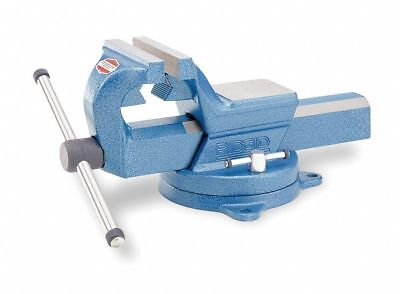 """Heavy Duty Combination Vise, 6"""" Jaw Width, 8"""" Max. Opening, 4-1/2"""" Throat Depth"""