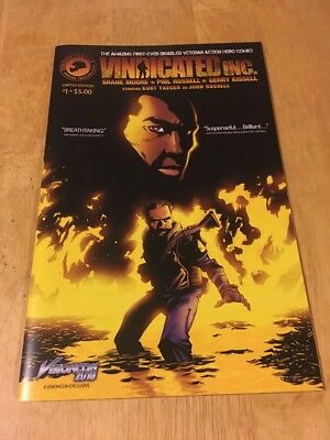 Vindicated INC., Limited Edition Comic from Gerry Kissell!  VFNM!! Save on Ship!