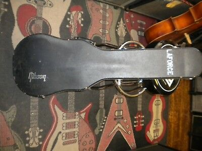 Vintage 70's Gibson Les Paul Case Red Interior