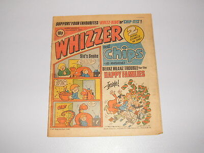 Whizzer and Chips, 26th January 1980 issue - Vintage Retro Comic -  Buster - s_4