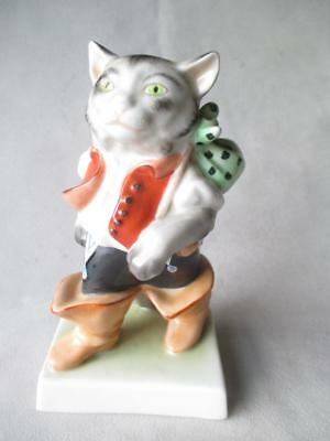 """Fabulous Herend """"puss In Boots"""" Figurine"""