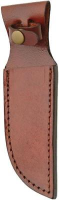 "Brown Leather Sheath For Straight Fixed Blade Knife Up To 5"" Blade 1161"