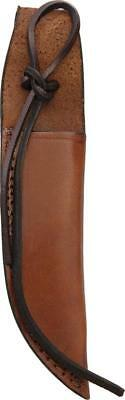 "Brown Leather Sheath For Straight Fixed Blade Knife Up To 6"" Blade 1158"