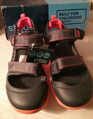 9a9257db379484 Stride Rite Made 2 Play Phibian Navy Blue Sport Sandals Shoes Boy Size 1 M  NIB