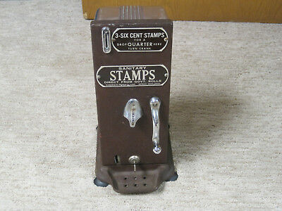 Vintage Stamp Machine...6 Cent  .schermack Coin Operated Postage Stamp Vending