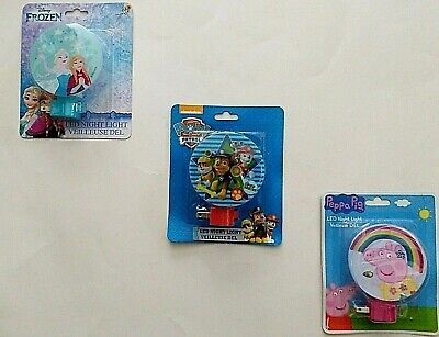 Character Night Lights Help Little Ones See Twelve Styles New Sealed Packages!