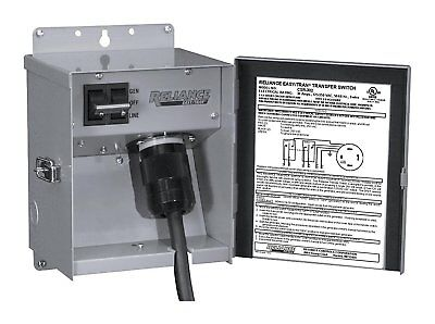 Reliance Controls Corporation CSR202 Easy/Tran Transfer Switch for Generators Up
