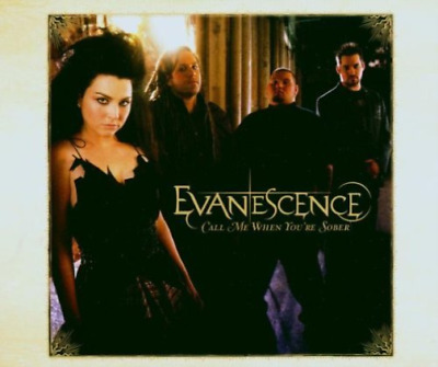 Evanescence-Call Me When You`Re Sober (2 Versions) (US IMPORT) CD NEW