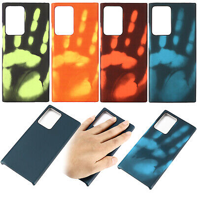 Heat Thermal Colour Changing Phone Case Cover Samsung Galaxy S7 S8 S9 Edge Plus