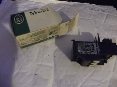 MOELLER ZOO 1,6 Overload relay,1.0-1.6A FLC range RS 493 0359 / RS 344 322
