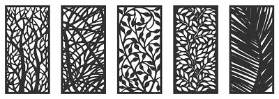 DXF and CDR File Ready for CNC Laser Plasma or Water Jet Router Cut - Art panels