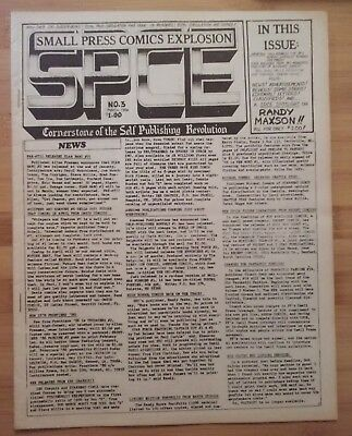 SPCE #3-- SMALL PRESS COMICS EXPLOSION-- reviews and ads-- 1986