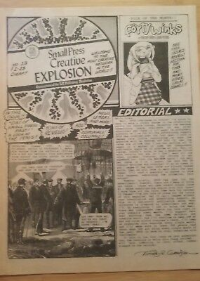 SPCE #13- SMALL PRESS CREATIVE EXPLOSION- 1998- reviews and ads