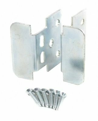 Heavy Metal Security Hasp/Handle, 2-7/16In. H, Silver Silver   401ZN12