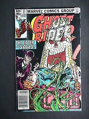 80 Ghost Rider Comic Book Collectible