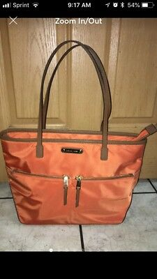 michael kors Jet Set tote bag large Tangerine