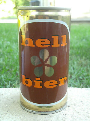 70's HELL BIER (BEER) CAN C S PULL TAB * ITALY