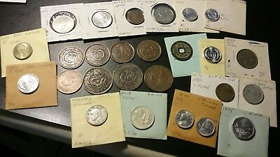 Mixed Lot Of 26 China Coins..10 Cash ,20 Cash, Early Cash And More